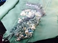Sea Green Mermaid Dress Tutorial process 5